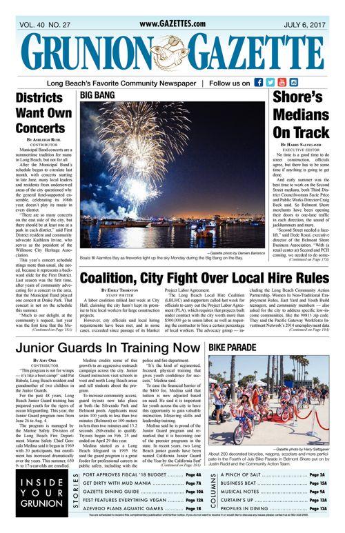 Grunion Gazette  |  July 6, 2017