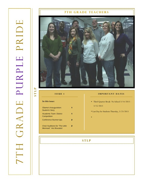 The Purple Pride: First Edition