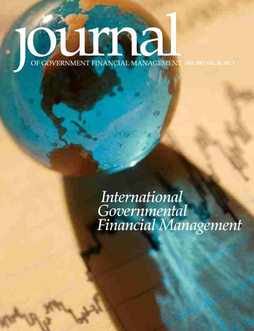 Fall 2007 Journal of Government Financial Management