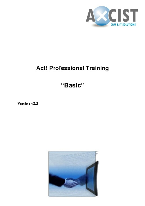 Act! by Sage Basic