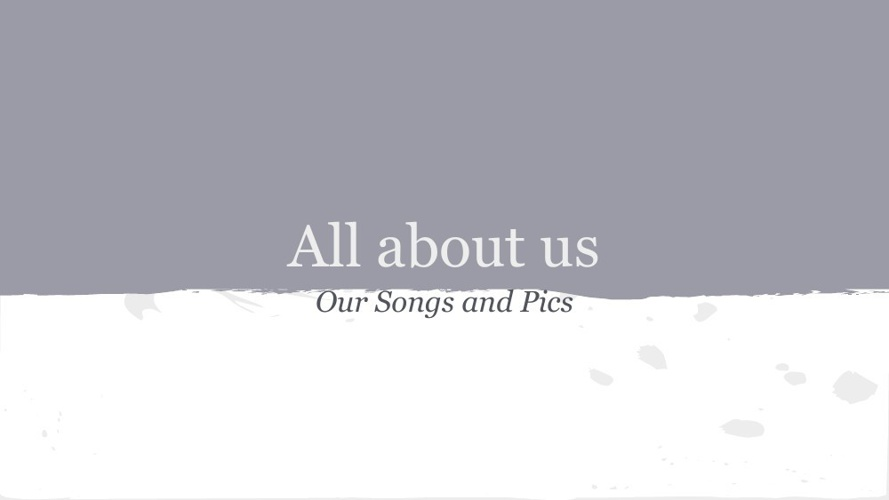 Our Songs - Modiin