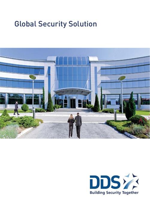 DDS company brochure - flip