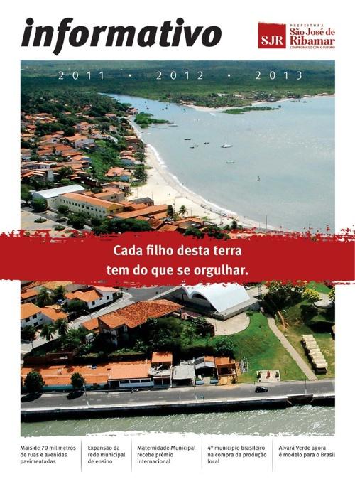 Informativo 2011/2012/2013 - Prefeitura de São José de Ribamar