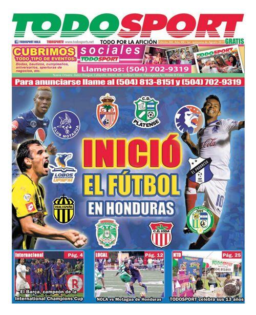 Todosport - Agosto Primera Edicion 2017