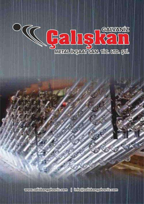 Çalışkan Galvaniz Katalog