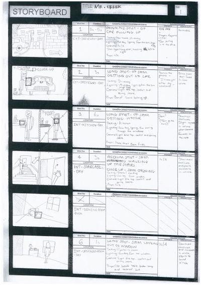 Trailer Storyboard