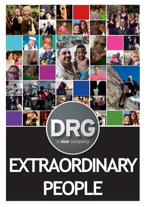 DRG - Extraordinary People Catalogue