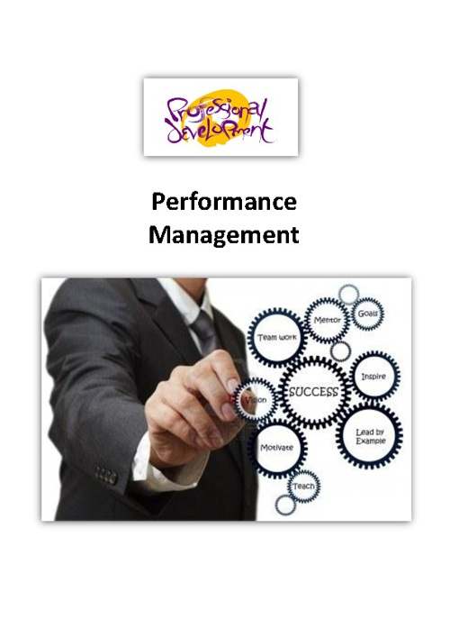 SMART Targets for Performance Management