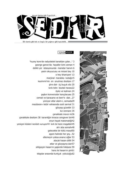 Sedir Dergisi