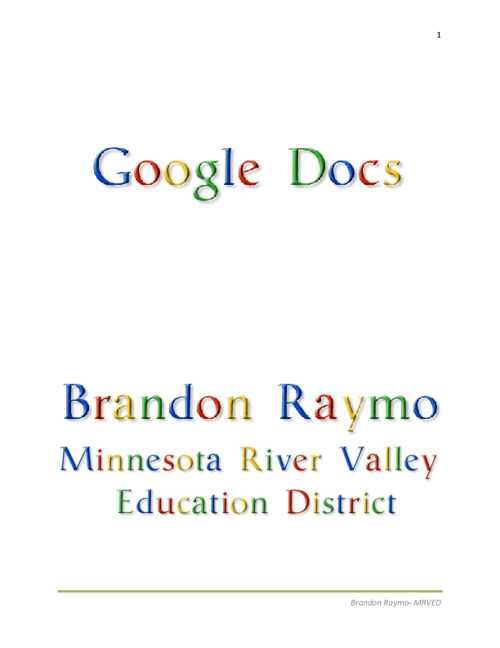 Google Docs Tutorial
