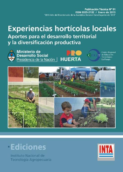 EXPERIENCIAS HORTICOLAS LOCALES.