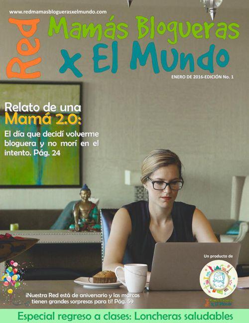Revista Red Mamás Blogueras x El Mundo