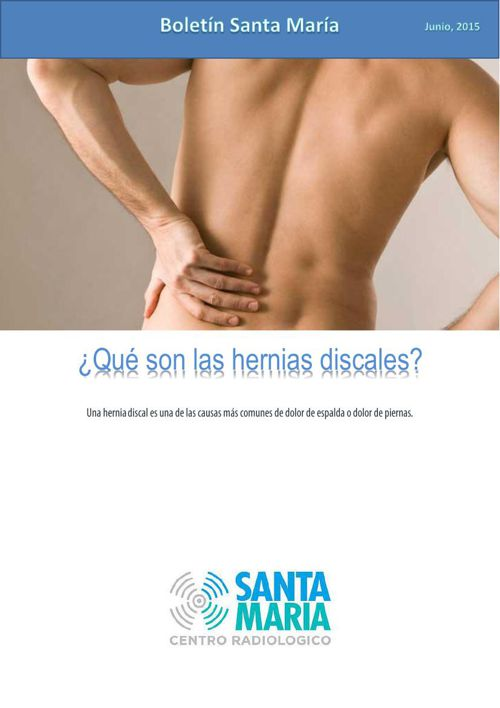 Hernias discales