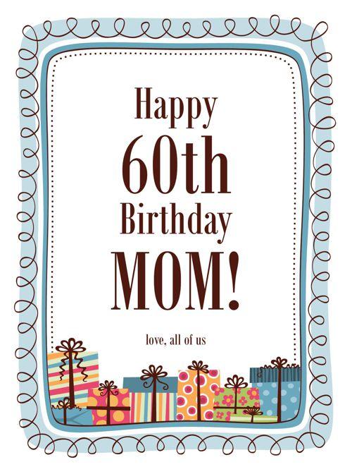 Happy Birthday Mamma
