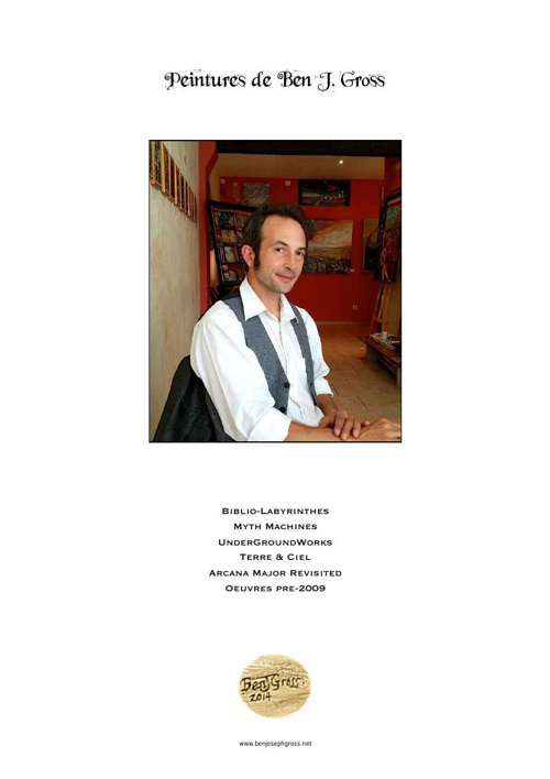Copy of Ben J. Gross, Paintings 1996 - 2014, Catalogue