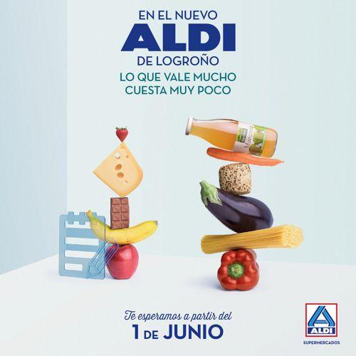 Folleto Apertura ALDI Logroño
