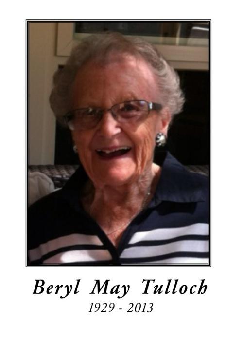 beryl tulloch