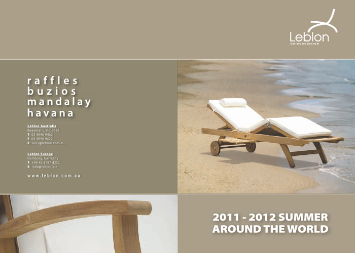 Leblon Catalogue 2012