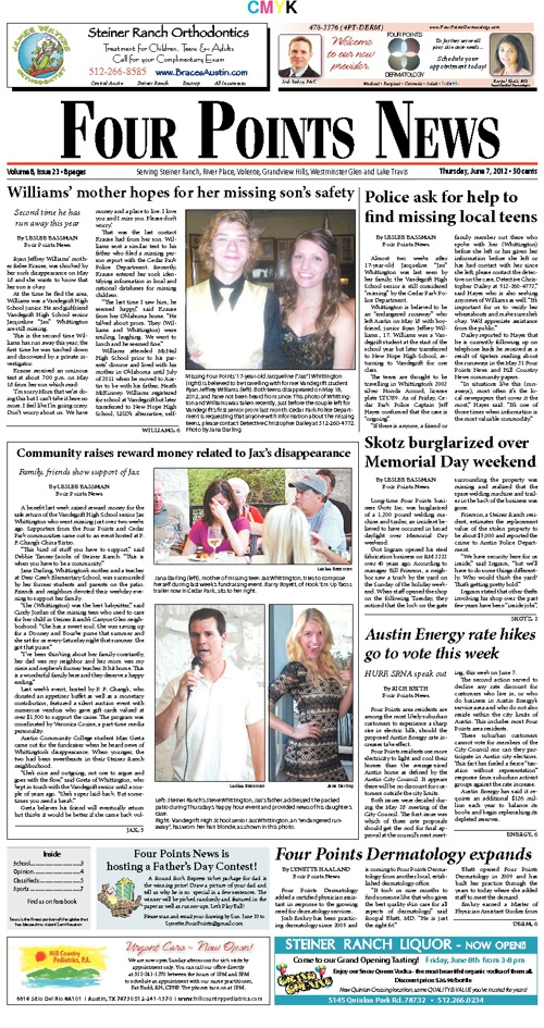 Four Points News June 7, 2012 Issue