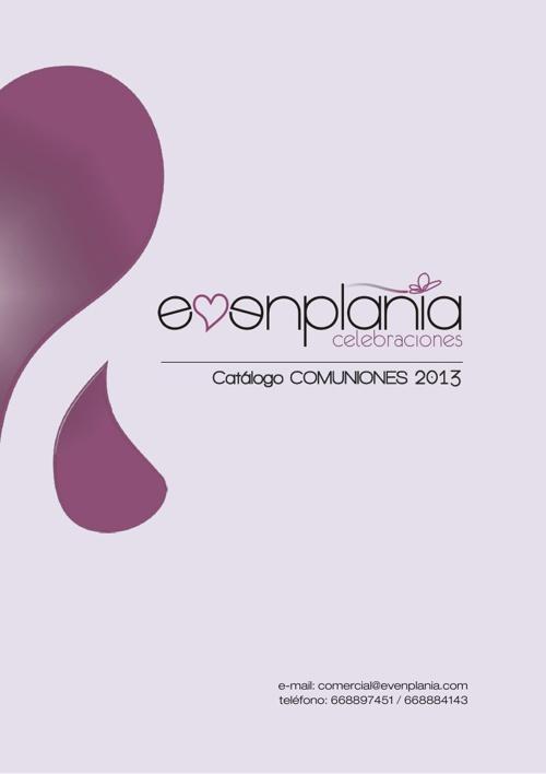 Catalogo_Evenplania_Comuniones_2013