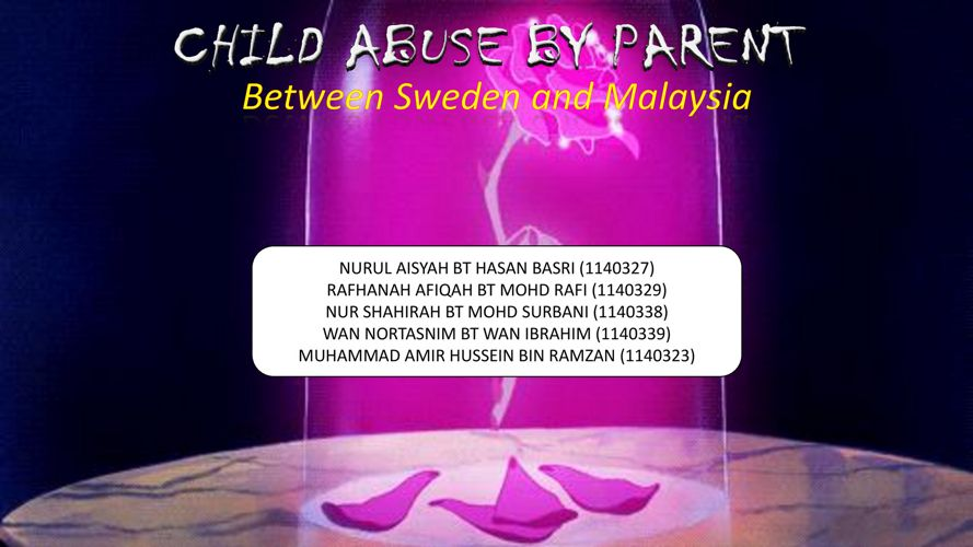 CHILD ABUSE PRESENTATION pdf hahahahahhaahaha