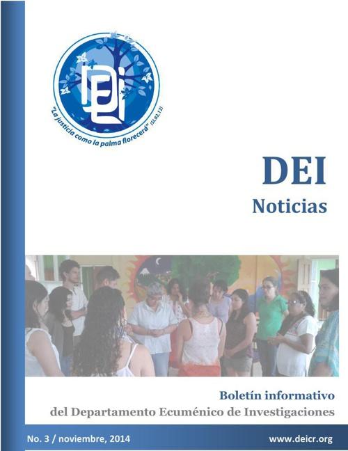 DEI,Boletín del DEI. Departamento Ecuménico de Investigaciones.