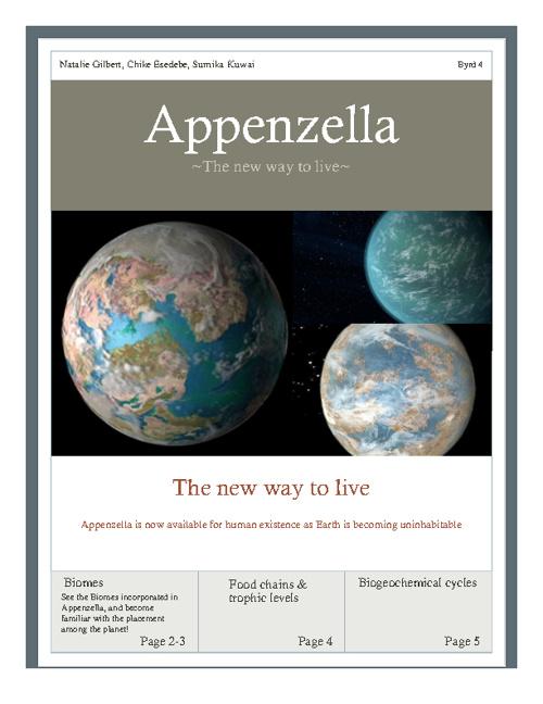 Appenzella Magazine- Natalie Gilbert Sumika Kawai Chike Esedebe