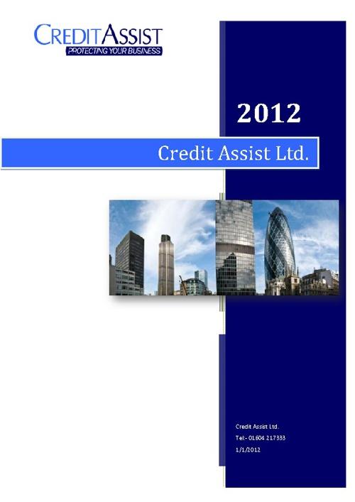Credit Assist Ltd Marketing Brochure