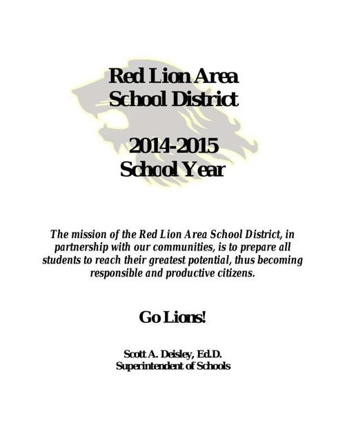 1415 Red Lion District Brochure