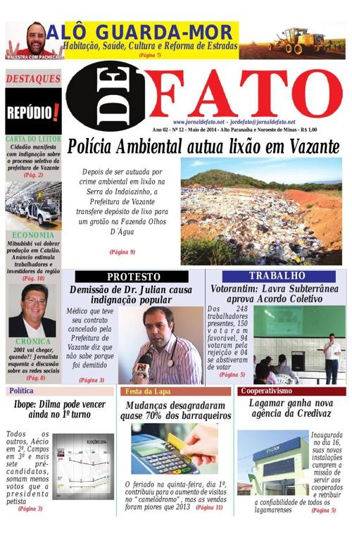 Jornal De Fato 12ª Edição