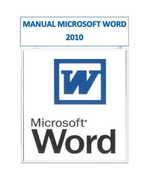 Manual Microsoft  World 2010