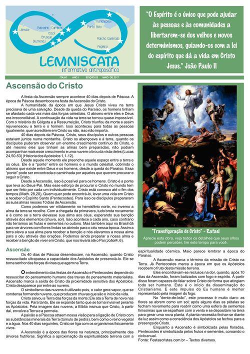 2 Edição - Lemniscata Informativo Antroposófico