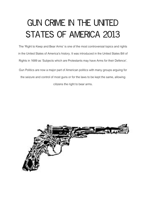Gun Deaths in the USA