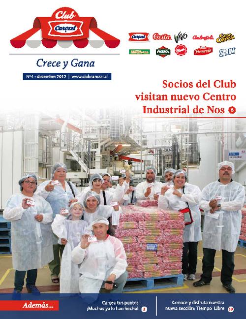 Boletín Carozzi Diciembre 2012