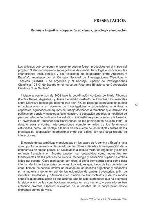 VOL06/N16 - Presentación dossier