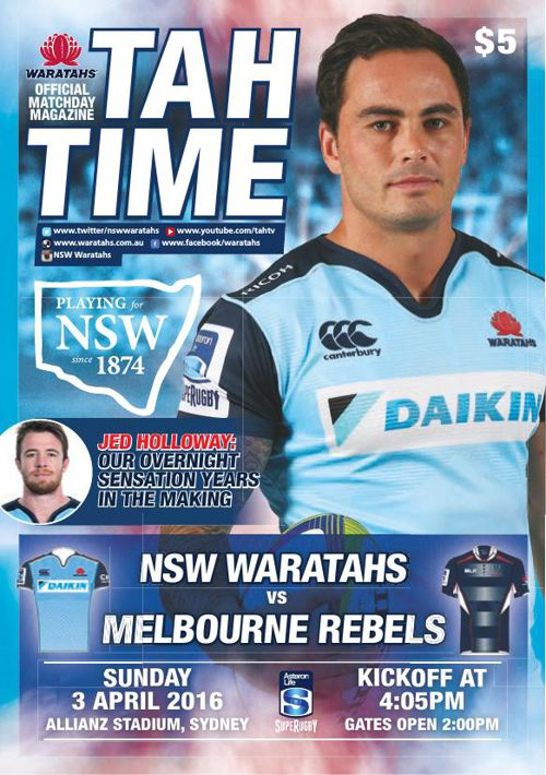 TAHS V REBELS MATCH PROGRAM