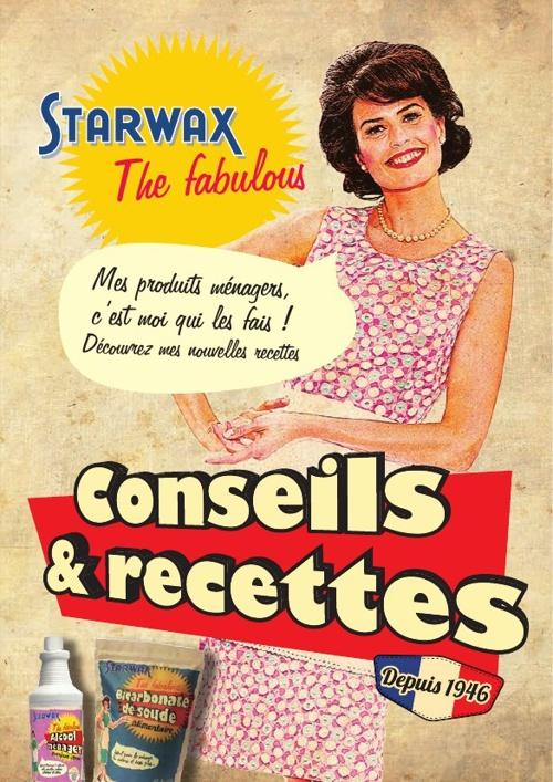 Livret de Conseils & Recettes - Starwax The Fabulous