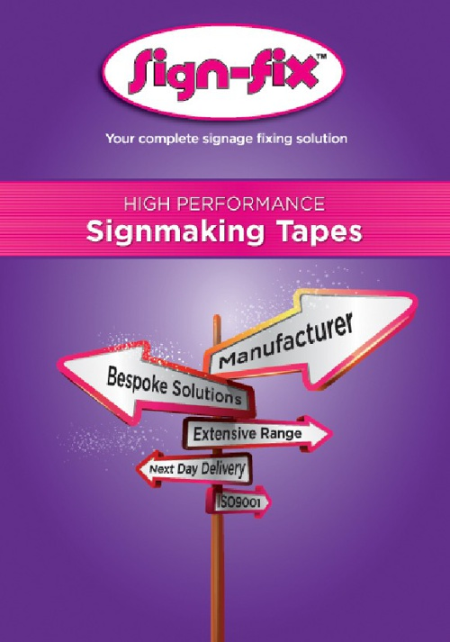 SignFix Tapes Full