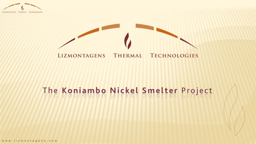 LTT Group - The Koniambo Nickel Smelter Project