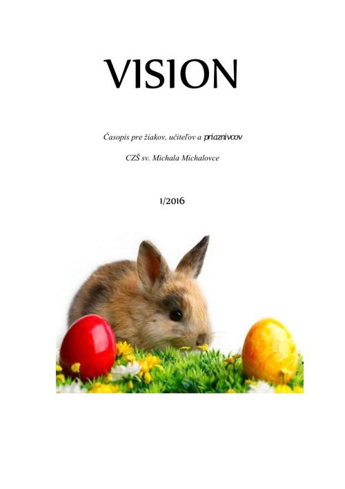 VISION - 1/2016