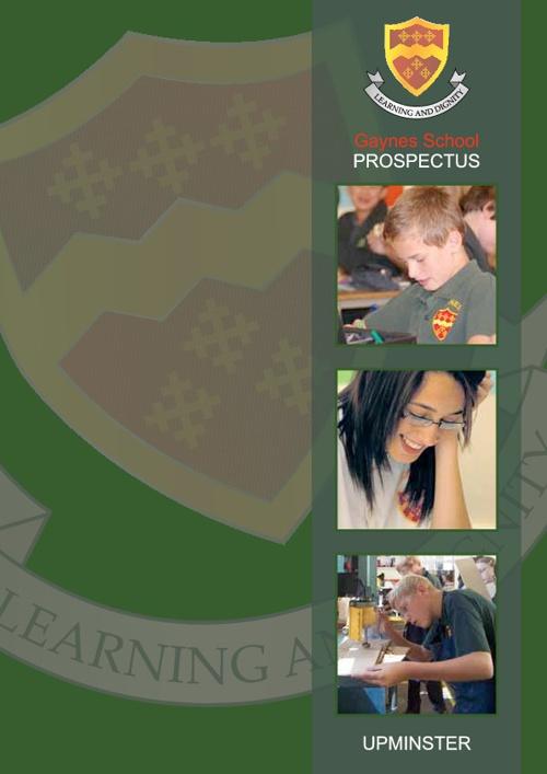 Gaynes School Prospectus