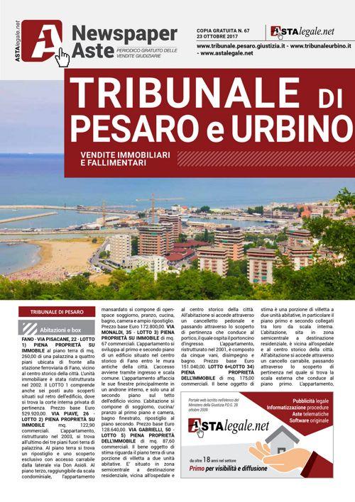 Pesaro Urbino 23 ottobre 2017