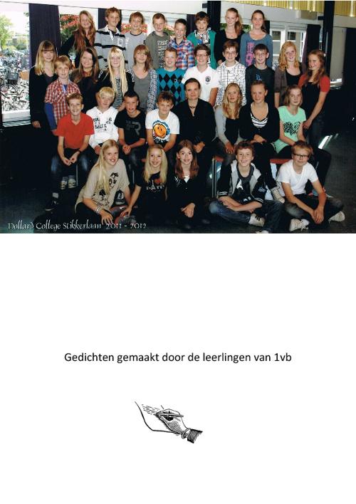 Gedichten 1Vb 2011-2012