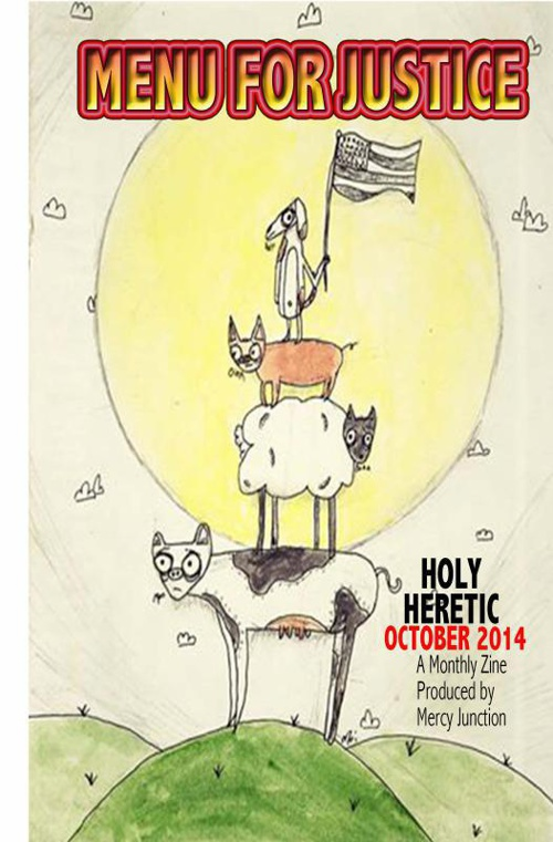 Holy Heretic: MENU FOR JUSTICE October 2014