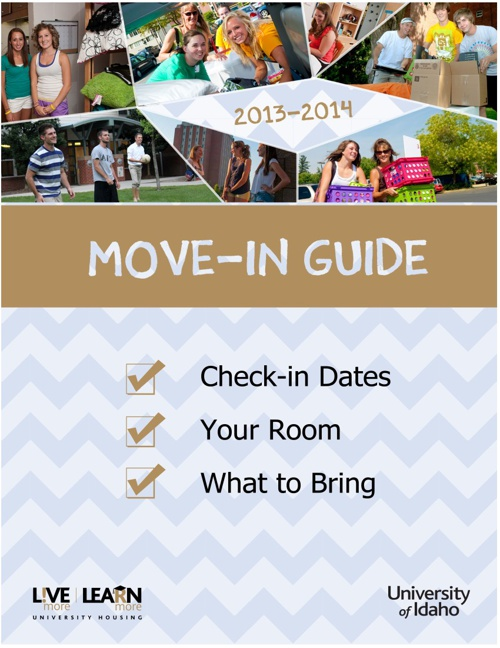 Spring 2014 Move-In Guide