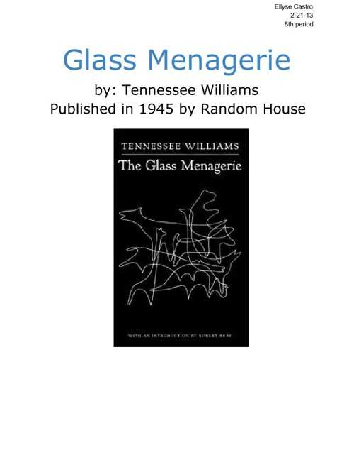 Glass Menagerie Reflect