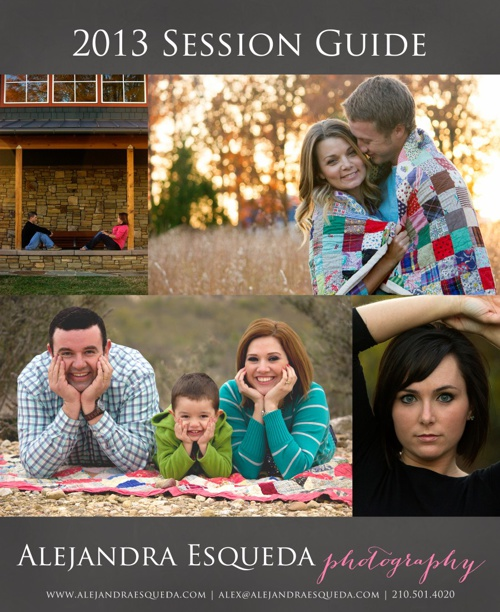 2013 Session Guide | Alejandra Esqueda Photography