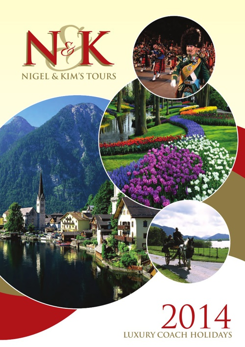 Nigel & Kim's Tours 2014 Brochure