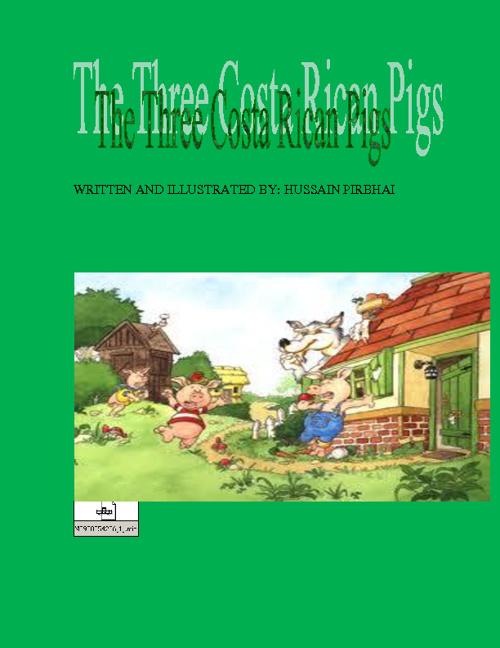 three costa rican pigs