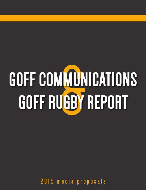 Goff Communications LLC: 2015 Media Proposals